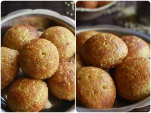 Sweet Millet Thinai Paniyaram Recipe