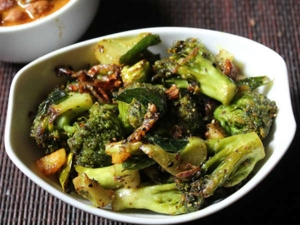 Broccoli Pepper Fry Recipe
