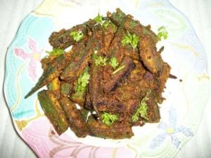 Rajasthan Style Ladysfinger Fry