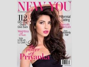 Priyanka Chopra On The Cover New You Winter Edition