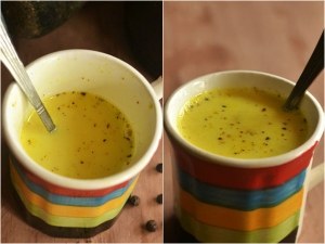 Pepper Turmeric Milk Recipe Tamil