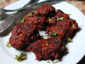 Spicy Crispy Lamb Chops Recipe Tamil