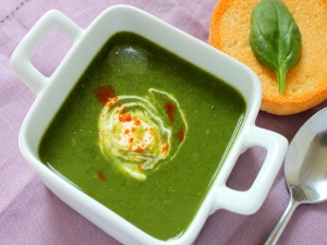 Spinach Soup Recipe Tamil