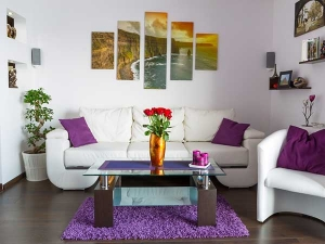 Creative Ways To Glam Up A White Wall