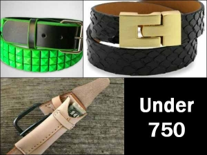 Budget Diaries Stylish Belts Under Rs 750 For Men Women