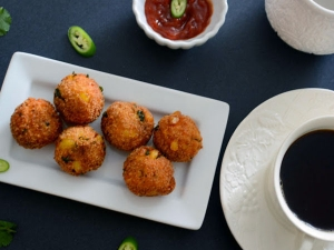 Bread Beetroot Balls Recipe