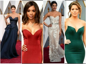 Celebrities Who Wore Strapless Gown At Oscars