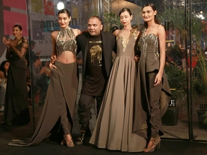 Gaurav Gupta S Melt Collection At Amazon India Fashion Week