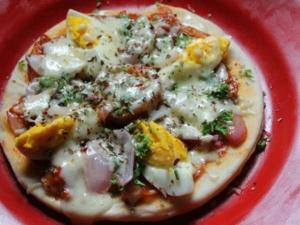 Simple Egg Pizza Recipe