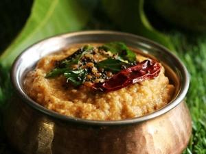 Andhra Style Raw Mango Chutney Recipe