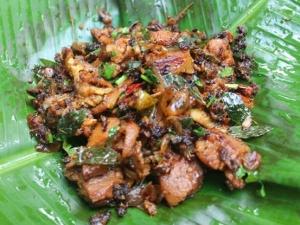 Chettinad Pepper Mutton Roast Recipe