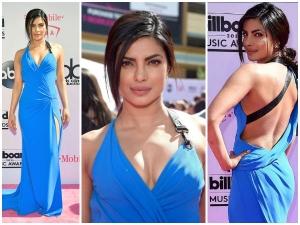 Priyanka Chopra Wearing Atelier Versace Dress For Billboardmusicawards