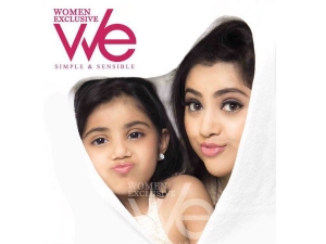 Meena Nainika S Adorable Photoshoot We Magazine