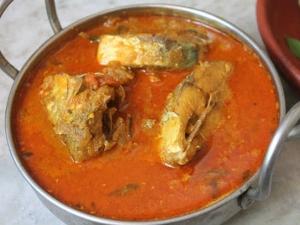 Village Style Meen Kuzhambu Recipe