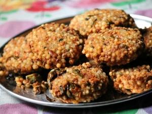 Javvarisi Vadai Recipe Krishna Jayanthi Special