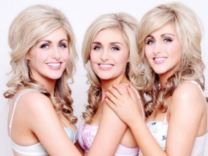 The World S Most Identical Triplet Model Sisters