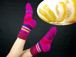 Why Some Women Put Lemon Socks
