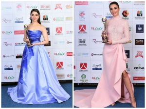 Tamannaah And Amy At Asiavision Awards
