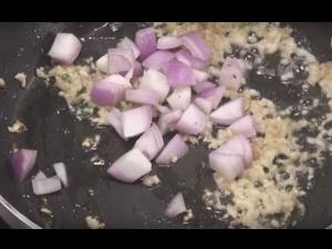 Water Chestnut Mushroom Fry