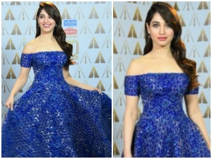 Tamannaah In Rami Kadi At Asianet Awards 2017