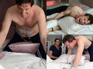 Man Experiences Labor Pain After Challenging His Wife