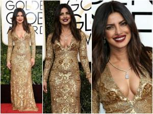 Priyanka Chopra Makes Her Golden Globes Debut And Stuns Everyone