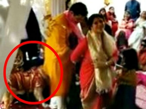 This Dog Not Want Leave Away His Human Even Marriage Ritual