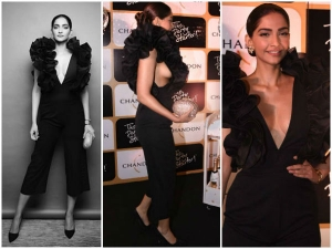 Sonam Kapoor S Latest Wardrobe Malfunction Pictures