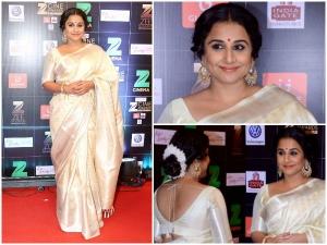 Vidya Balan At Zee Cine Awards 2017