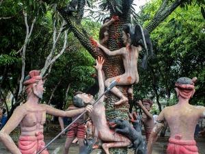 Wang Saen Suk Hell Garden Thailand Hell Horror Park