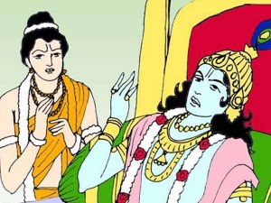 Weird Relationship Story Lord Krishna Naradhar Behind Tamil New Year