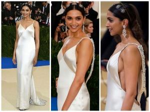 Deepika Padukone Looks Breathtakingly Beautiful On The Red Carpet Of Met Gala 2017