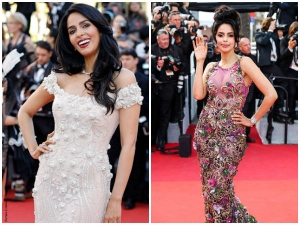 Two Different Looks Of Mallika Sherawat At Cannes