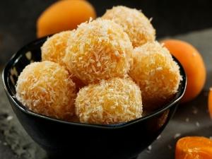 Mango Coconut Ladoo Recipe