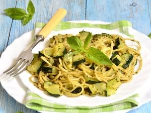 Quick Pesto Zucchini Pasta Recipe