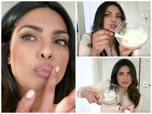 Priyanka Chopra Reveals 3 All Natural Diy Skin Secrets