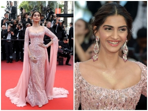 Sonam Kapoor In Elie Saab Couture At Cannes