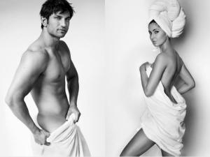 Sushant Singh Rajput Appeared Master Testino S Towel Series Photoshoot