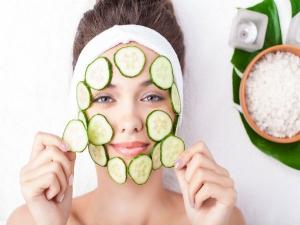 Cucumber Facial At Home