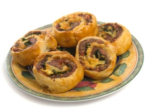 Vegetable Pinwheel Samosa Snack For Your Iftar Feast