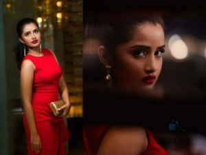 Anupama Parameswaran Red Magazine Cover Photoshoot