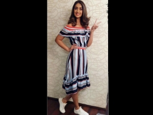 Cute As Princess Ileana D Cruz Off Shoulders