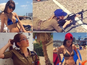 Pics Of Israeli Soldier Kim Mellibovsky Gone Viral