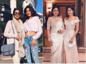Rocking Looks Sridevi Dnd Jhanvi Kapoor Together