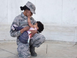 Photos Military Moms Nursing Their Babies