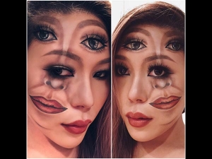 Stunned Images Optical Illusion Makeup