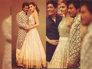 Anushka Sharma S Ethnic Mode Turned On Jab Harry Met Sejal Promotion