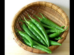 Health Benefits Green Chili