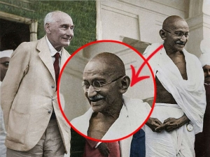 Original Picture Of Gandhi That Was Used In Currency Notes