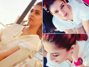 Nayanthara New York Trip Look